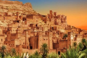 Excursión de Ouarzazate y Ait Ben Haddou con carretera de las kasbahs