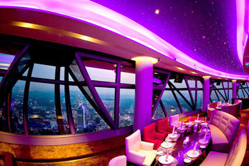 Feel Good & Taste Good at Revolving Restaurant KL Tower -Atmosphere...