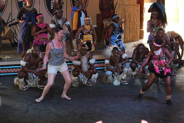 Lesedi Cultural Village and Lion Park Day Tour from Johannesburg