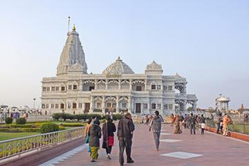 Same Day Tours to Vrindavan and Mathura by Private Cab from Delhi