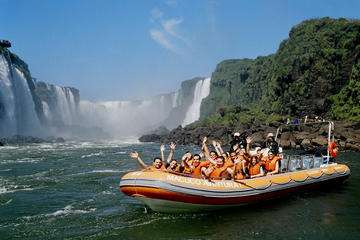 Iguassu Falls Brazilian-Side Day Tour with Safari Boat Ride
