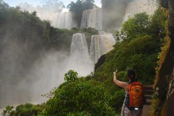 Noche en las Cataratas del Iguazú...
