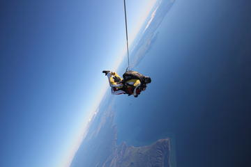 12000ft Tandem Skydiving from Rotorua