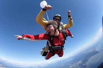 15000ft Tandem Skydiving in Taupo