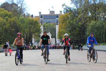 Historical Bike Tour in Mexico City: Chapultepec,