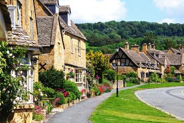 Dagstur fra London til Cotswolds, Stratford-upon-Avon og Warwick...