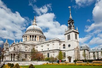 Eintrittskarte für die St Paul's Cathedral mit traditionellem...