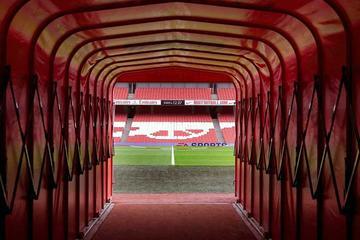 Entrada al Emirates Stadium y al...