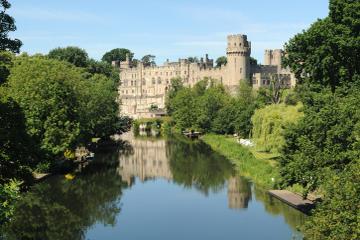Fleksibel dagstur til Warwick Castle...