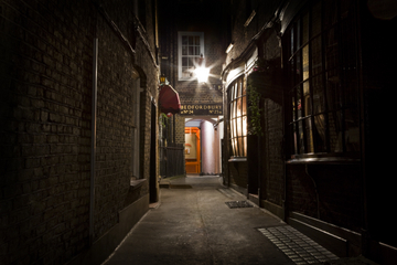 Jack the Ripper- och spökvandring i London