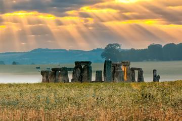 Stonehenge mit Zugang zum inneren...