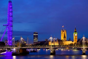 Tour panoramico di Londra di notte