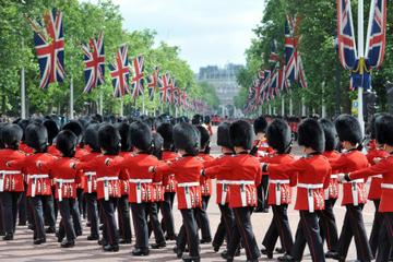 Visite du Londres royal comprenant la cérémonie de relève de la garde...