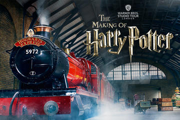 Warner Bros. Studio: The Making of Harry Potter med luksustransport tur-retur fra London