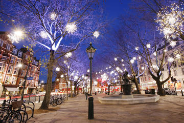 Fietstocht kerstverlichting door Londen