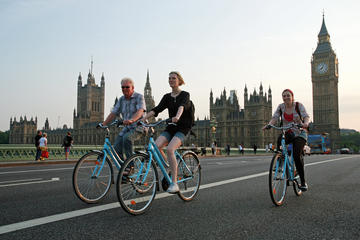 Klassisk cykeltur i centrala London
