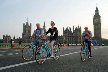 Tour in bicicletta di Londra: zona orientale, occidentale o centrale