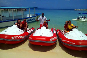 Montego Bay City Tour and Self-Drive Mini Boat Coastal Tour
