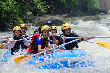 Half-Day White Water Rafting at Kampar River Including Lunch