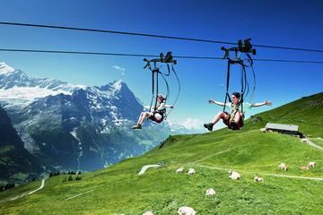 Aventura en la cima del Monte First desde Lucerna