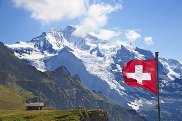 Excursion d'une journée dans les Alpes suisses au départ de Zurich...