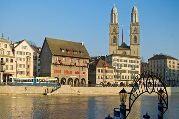 Höjdpunkter i staden Zürich med linbanetur till Felsenegg