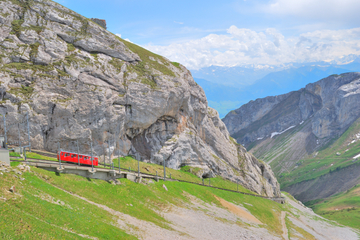 Mont Pilate en été - Excursion d'une journée au départ de Lucerne