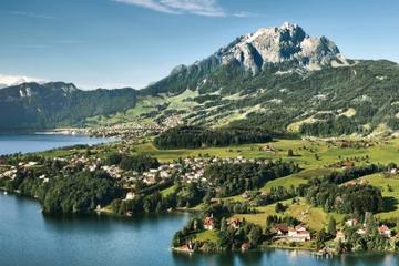 Sommardagstur till Pilatus från Zürich