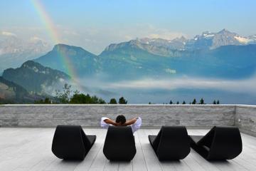 Tour di 2 giorni sul Monte Rigi da Zurigo, inclusi bagni termali e