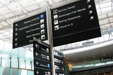 Trasferimento privato all'arrivo all'aeroporto di Zurigo