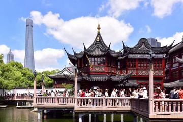 Private Shanghai City Highlight Day Tour with Local Delicacy Experience