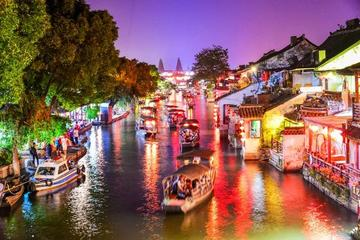 Xitang Water Village Night Discovery with Local Dim Sum and Karaoke from Shanghai