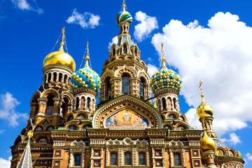 Excursão a pé com arte russa de São Petersburgo: Igreja do Salvador...