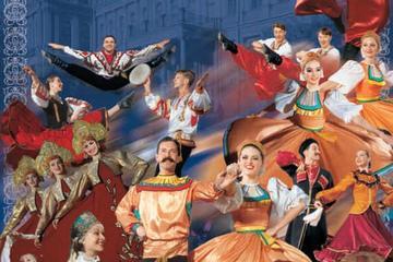 Folkloristische voorstelling 'Voel uzelf Russisch' met Russisch ...