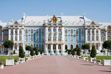 Recorrido por Pushkin (Tsarskoye Selo) y Palacio de Catalina