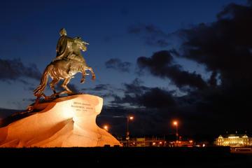 São Petersburgo à noite: Excursão turística pela cidade