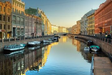 Saint Petersburg 2 Hour River and Canal Boat Cruise