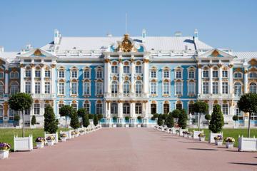 Visite de Pouchkine (Tsarskoye Selo) et du palais Catherine