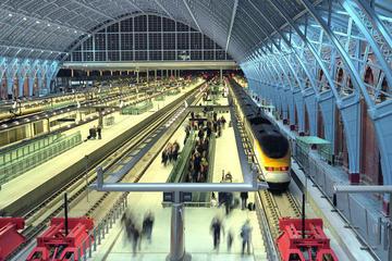 Trasferimento privato all'arrivo su treno Eurostar da London St