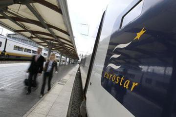 Traslado de partida particular para a St. Pancras Eurostar, Londres