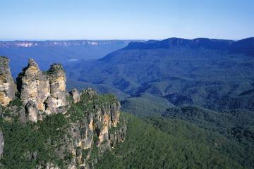 Blue Mountains Tagesausflug mit selbstgeführter Wanderung