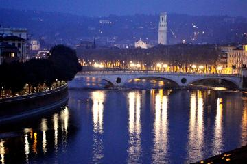 Moonlighted Verona: Evening Walking