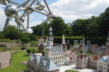 Mini-Europe - miniatuurstad met belangrijke Europese gebouwen