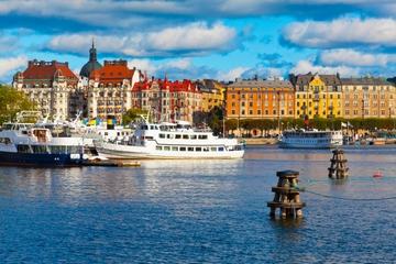 Gran excursión de Estocolmo en autobús y en barco