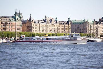 Guten Morgen Stockholm - Bootstour nach Fjäderholmarna mit Spaziergang