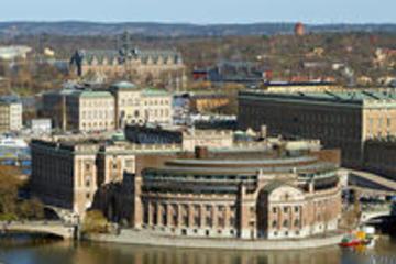 Heldagstur med sightseeing i Stockholm