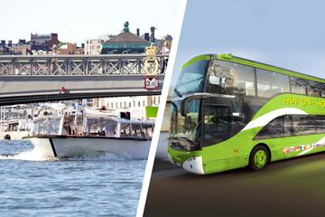 Hop-On Hop-Off Bus and Boat Ticket in Stockholm