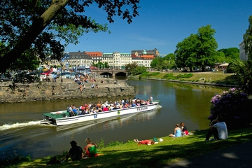 Hoppa på/hoppa av-båttur i Göteborg