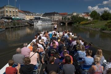 Hoppa på/hoppa av-tur med buss och båt i Göteborg