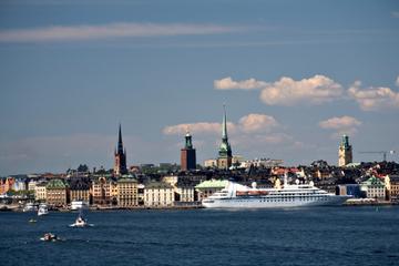Stockholms utflykt iland: Panoramasightseeing i Stockholm